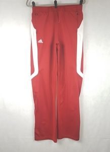 Adidas Climalite Medium Athletic Sweatpants Red